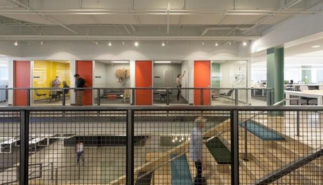 Interior moderno e inovador