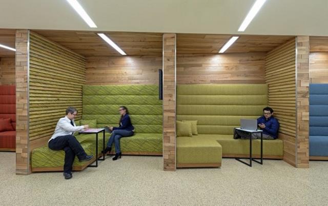 Linda arquitetura para escritórios
