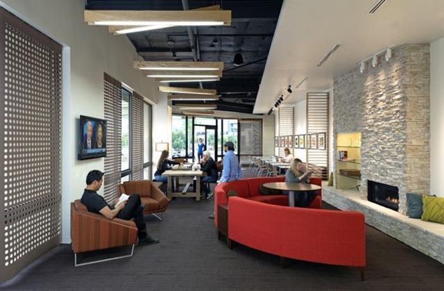 Interior do escritório Intuit