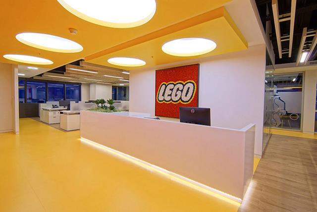 Escritório da Lego