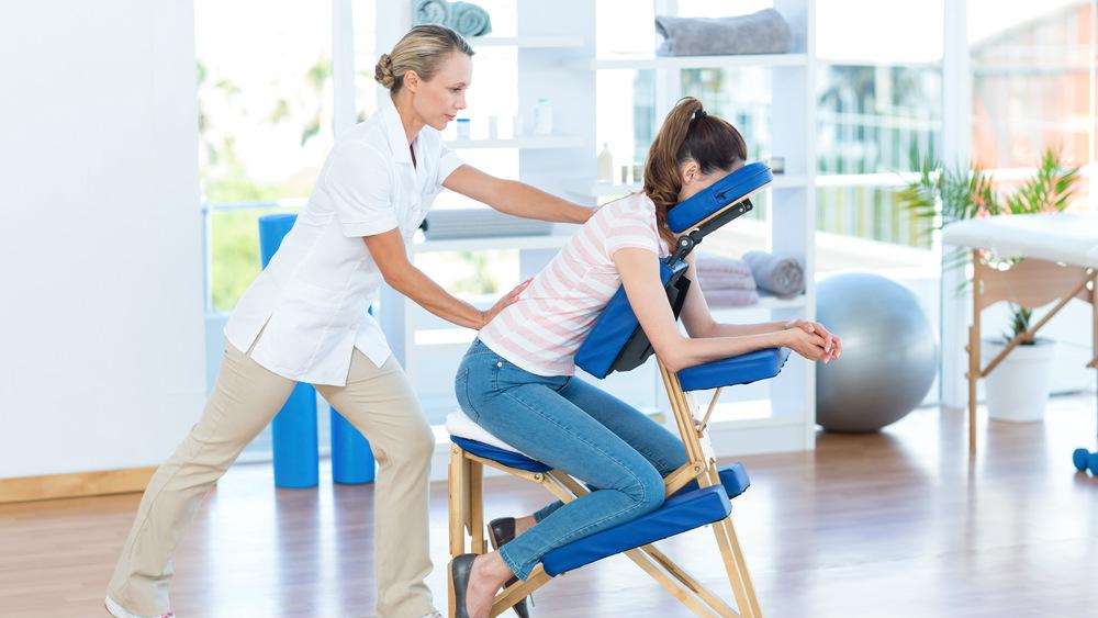 Saúde ocupacional, Quick Massage