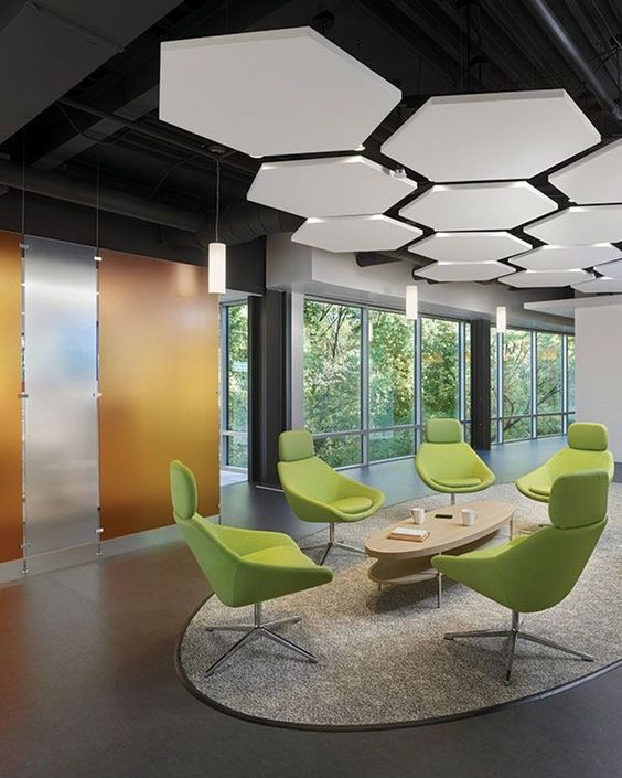 Inspirações de escritórios modernos e sofisticados.