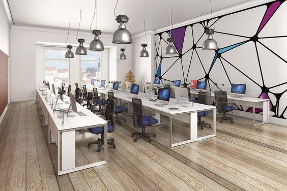 Os móveis para escritórios são os protagonista do espaço corporativo.