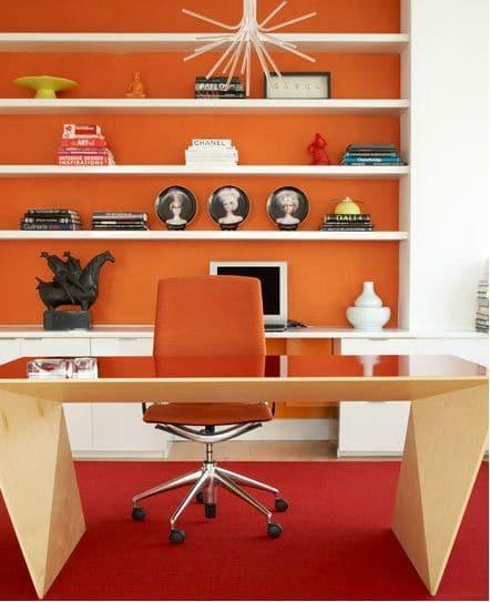 O laranja é uma cor considerada como estimulante e motivacional.