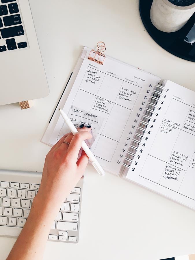 As agendas tomaram um novo formato com os planners, mas o objetivo de organização ainda é o mesmo.